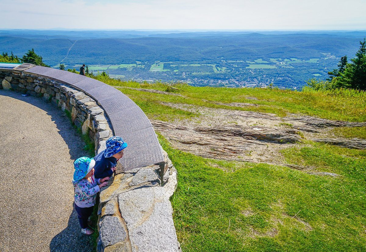 Mount Greylock: View of Massachusetts from its highest point!
