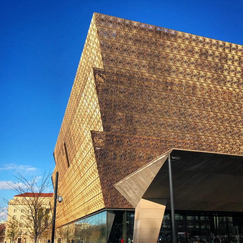 The National Museum of African American History and Culture in DC which we were luckily healthy enough to visit a few months ago.