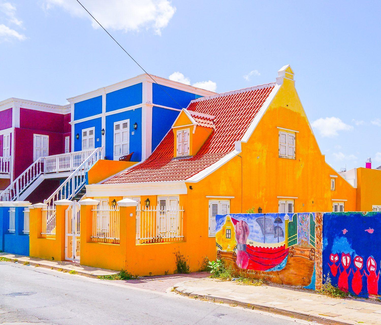 So bright and happy, Curaçao!