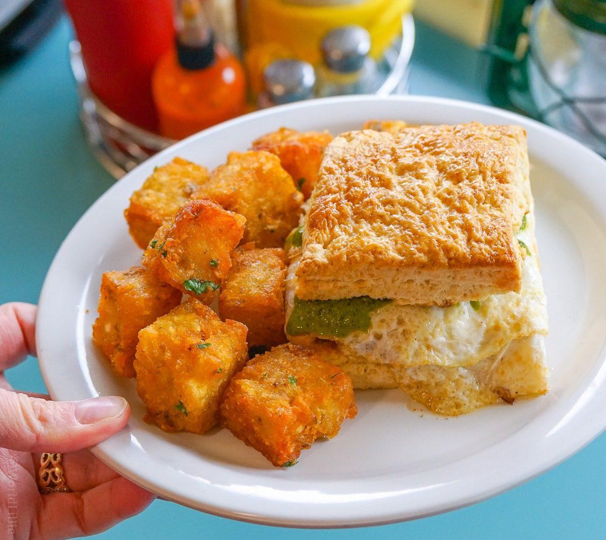 Portland Maine restaurants: Dutch's hash browns