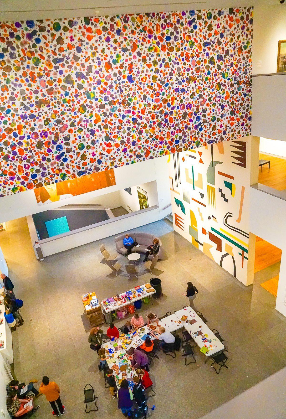 Portland Museum of Art lobby