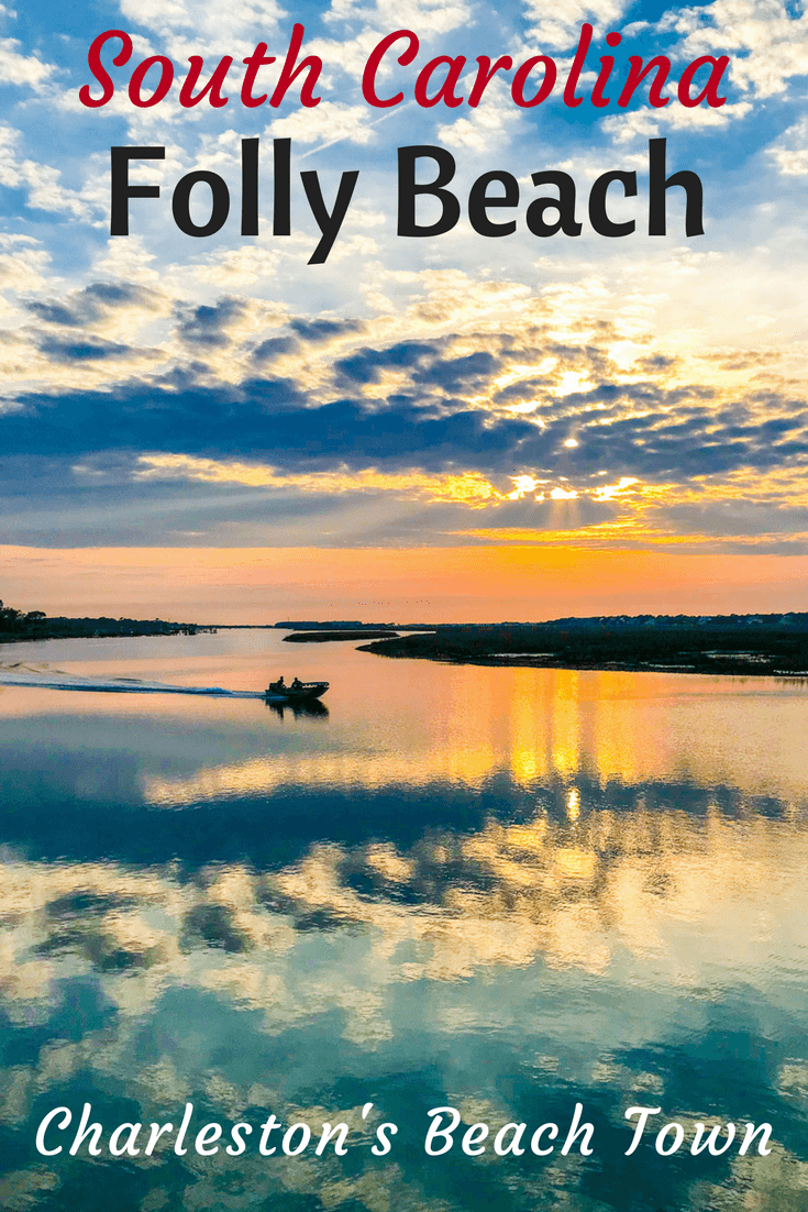 Folly Beach, SC is one of the most welcoming South Carolina beaches near Charleston for vacation. Great restaurants, nature, hotels, rentals, & lighthouse.