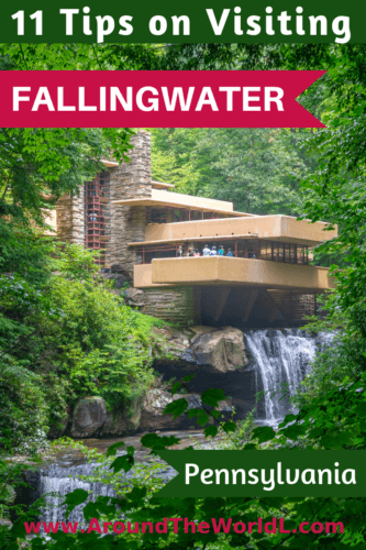 Fallingwater: the falling water house in PA