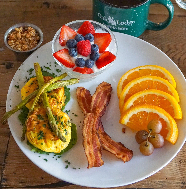 A hearty homemade breakfast.