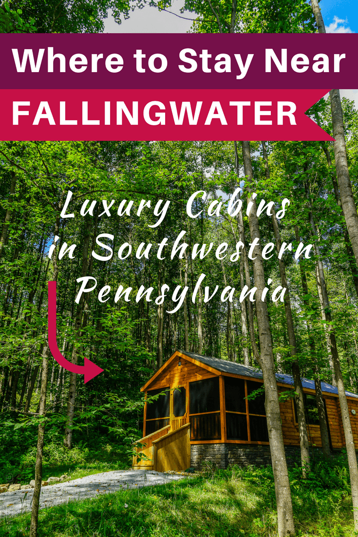 Where to stay near Fallingwater in the Laurel Highlands, PA? Oak Lodge is a great hotel and B&B with luxury private cabins in southwest Pennsylvania.