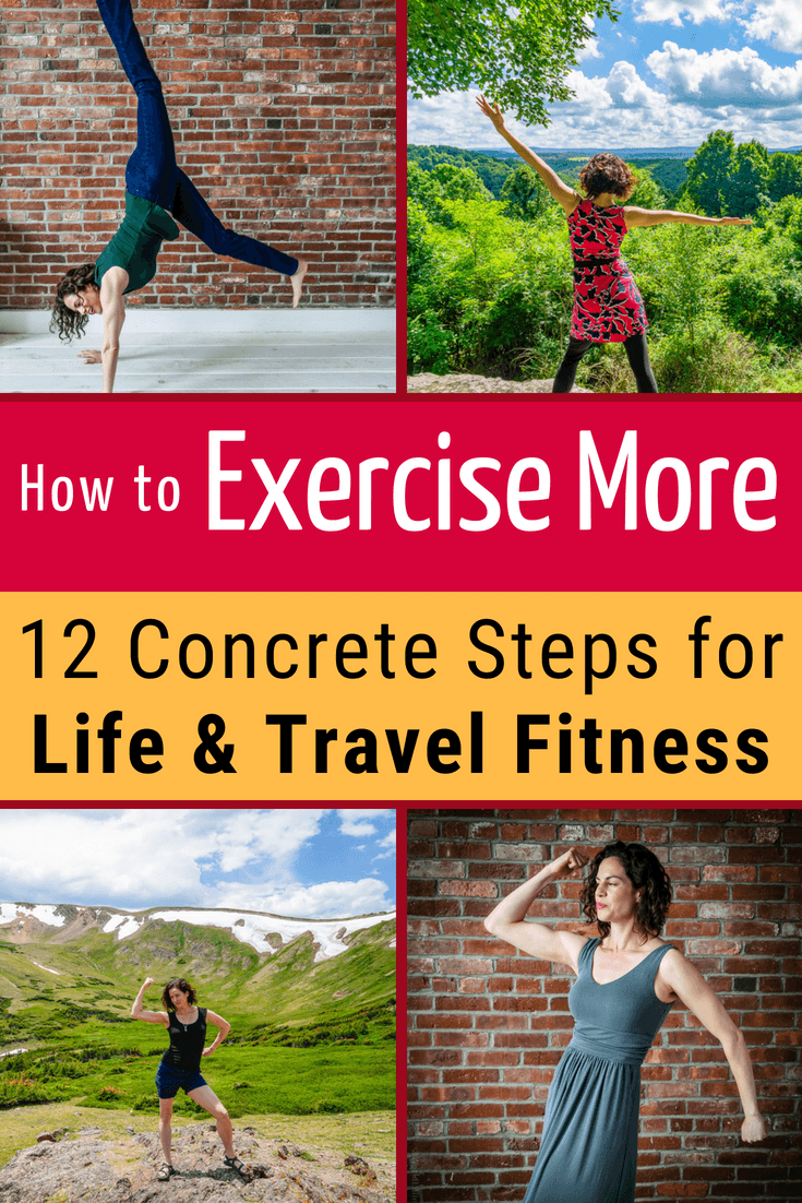 Workout plans failing? Gym motivation low? Want to get fit, but stuck? Get healthy NOW: 12 fitness tips to work out more & 1 exercise personal training idea! #Exercise #Fitness #WorkingOut #Health #Workouts