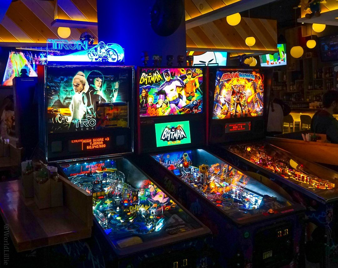 A hidden arcade behind Roxy's Grilled Cheese?!