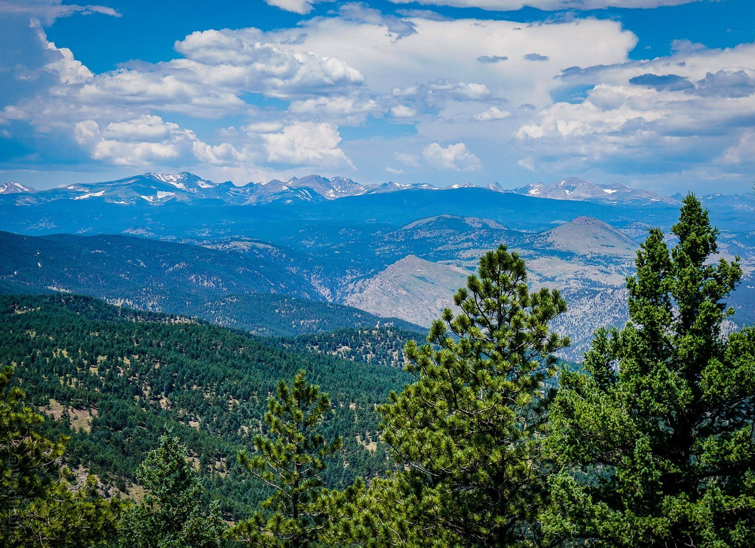 RMNP view from one of the best Boulder hikes