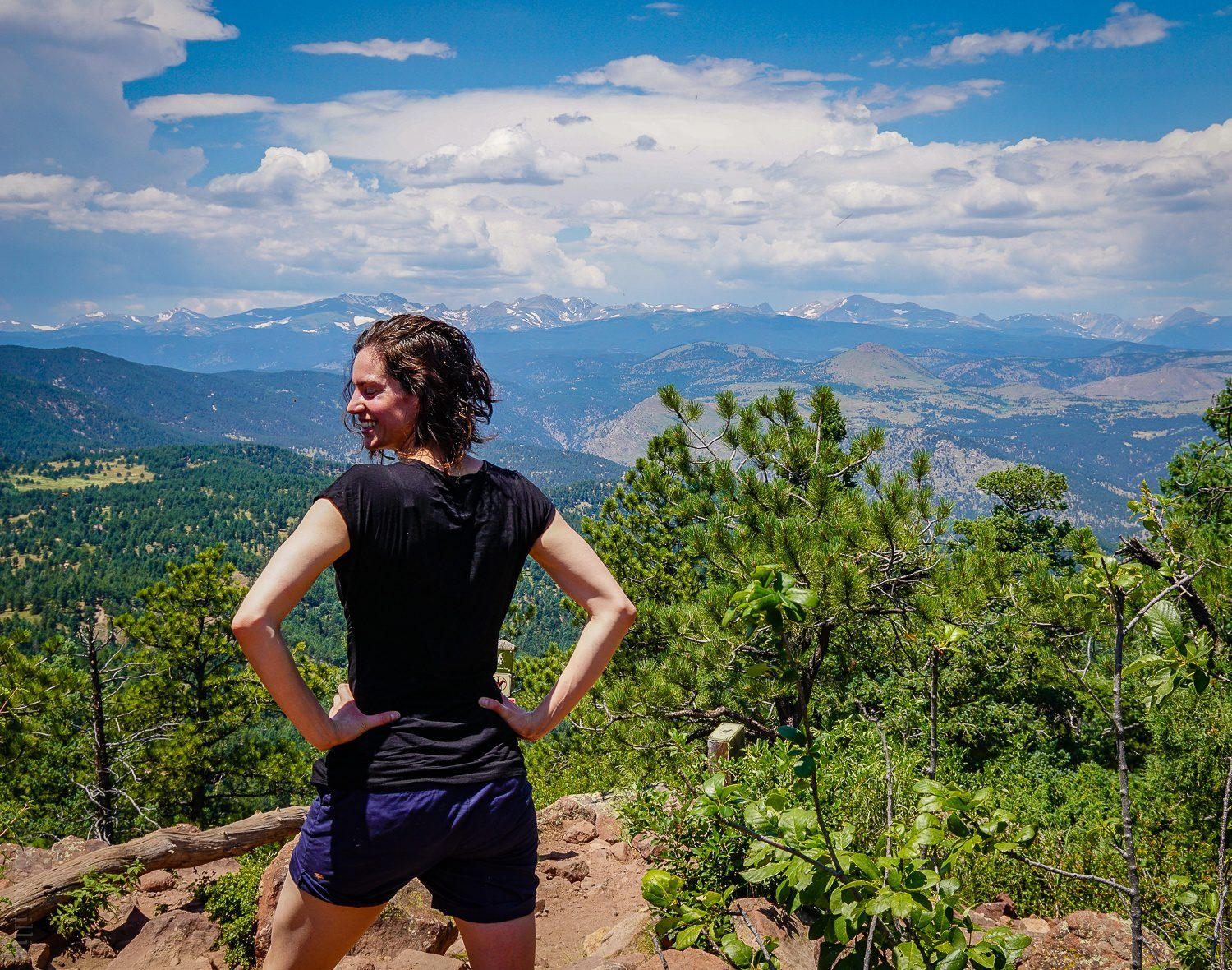 Powerful Rocky Mountain views from this hike!