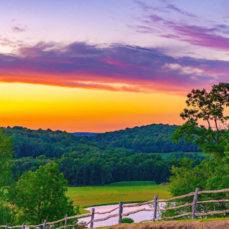 Now THAT's a sunset, Laurel Highlands!