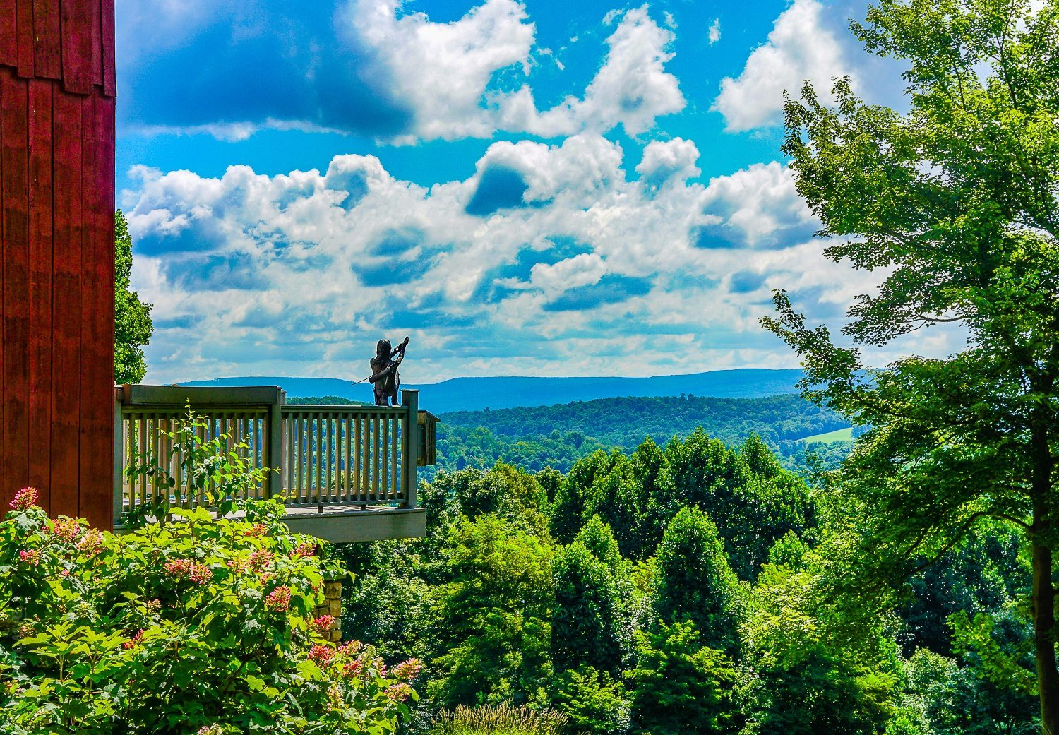 Nature rules in the Laurel Highlands.