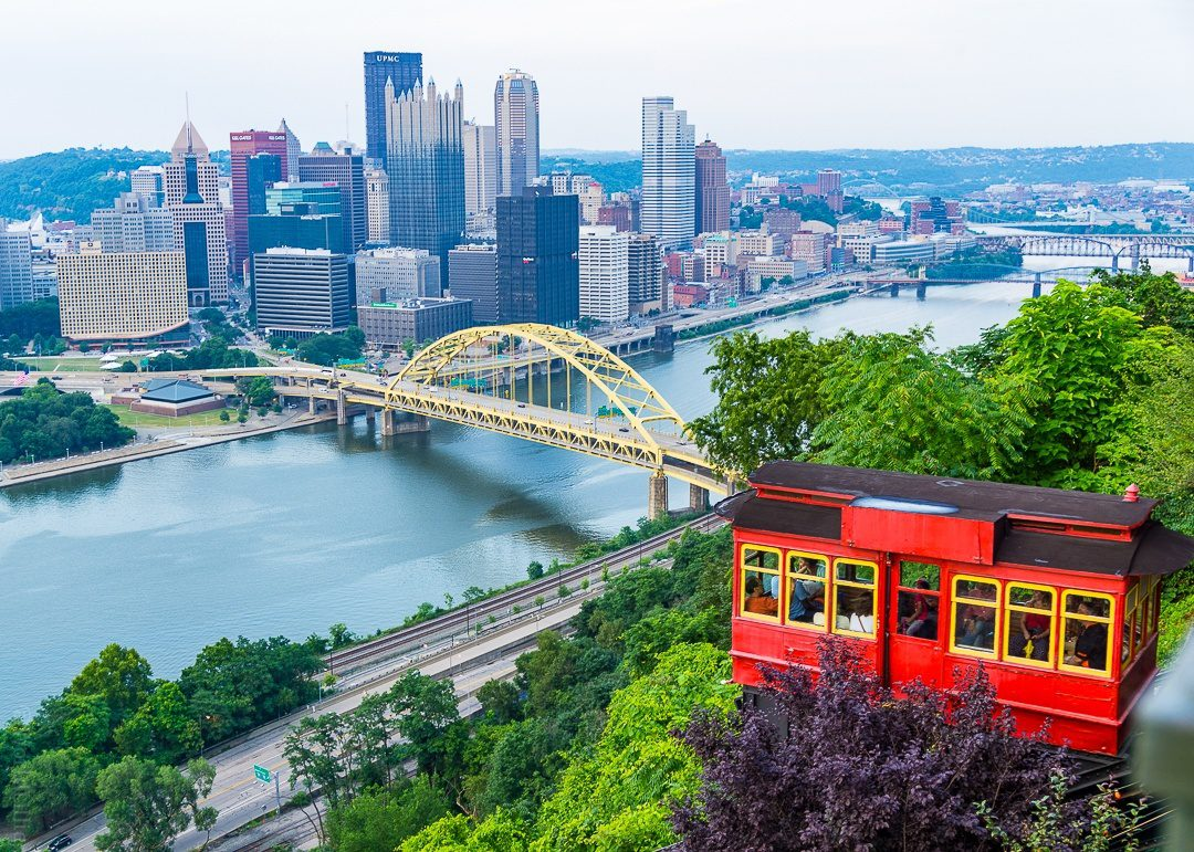 The rivers, bridges, and hills of Pittsburgh are beautiful!