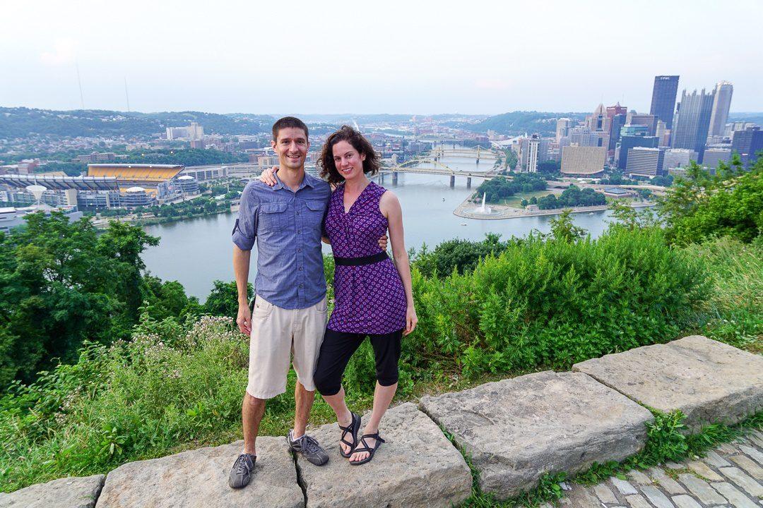Pittsburgh rivers and bridges