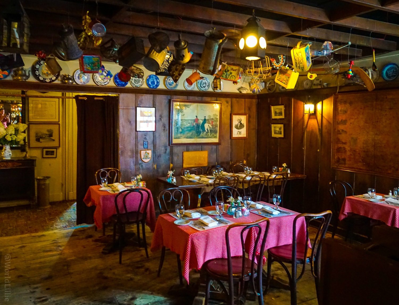 Historic tavern in the Red Lion Inn, Stockbridge, MA