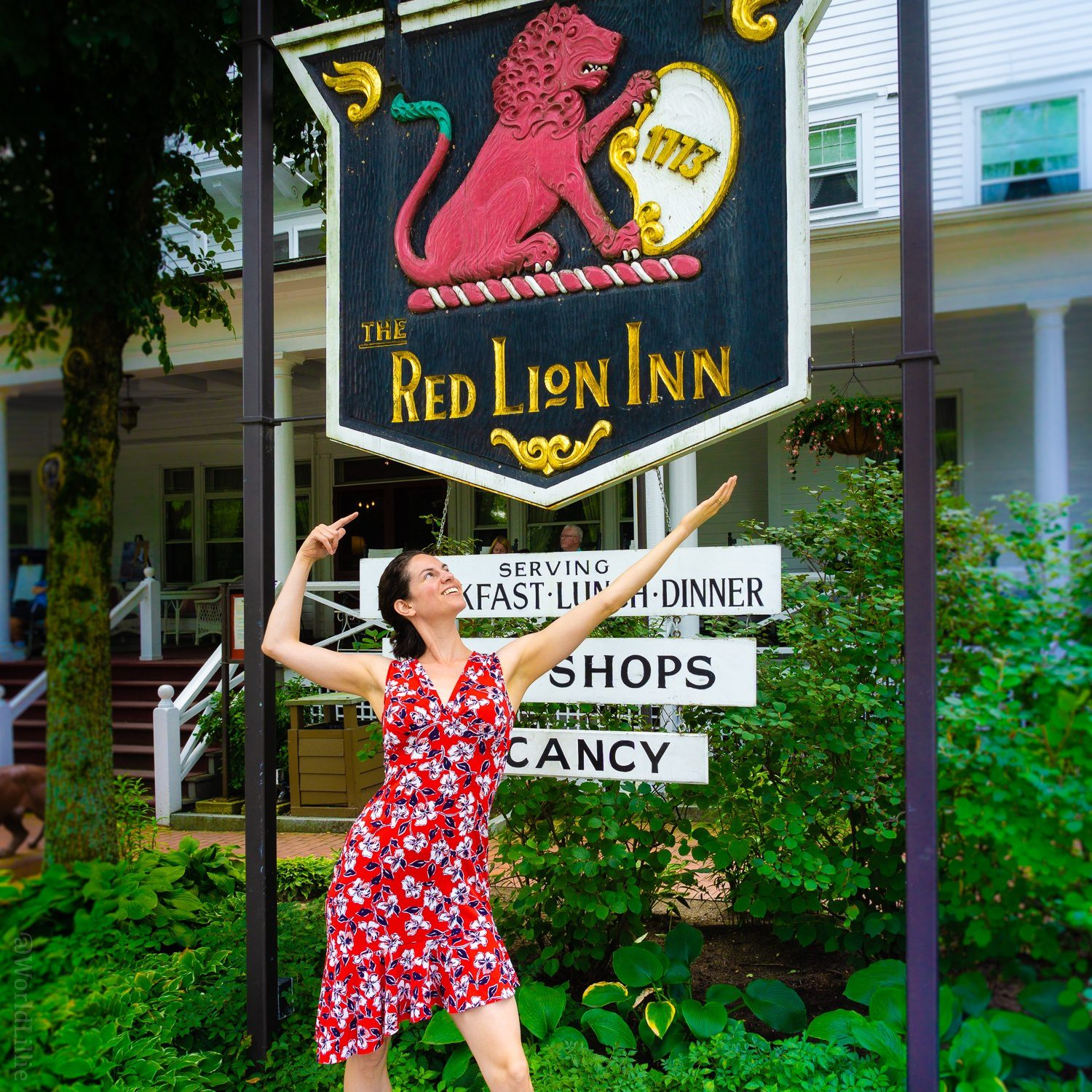 The Inn was established in 1773!