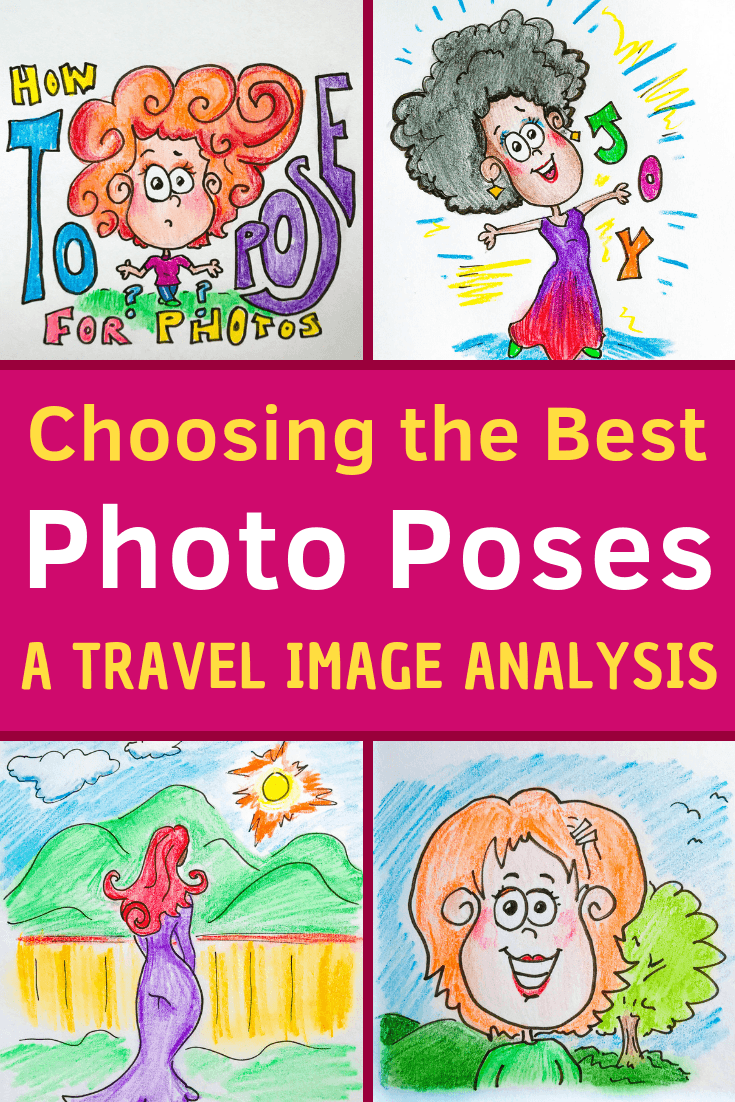 An analysis of female poses in photography, especially for travel pictures. Why do we chose to angle our bodies and faces as we do, and what is best? #photography #modeling #poses #travel #posing