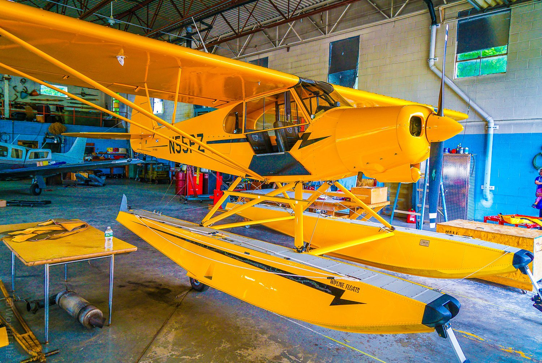 Seaplane, also called float plane or floatplane