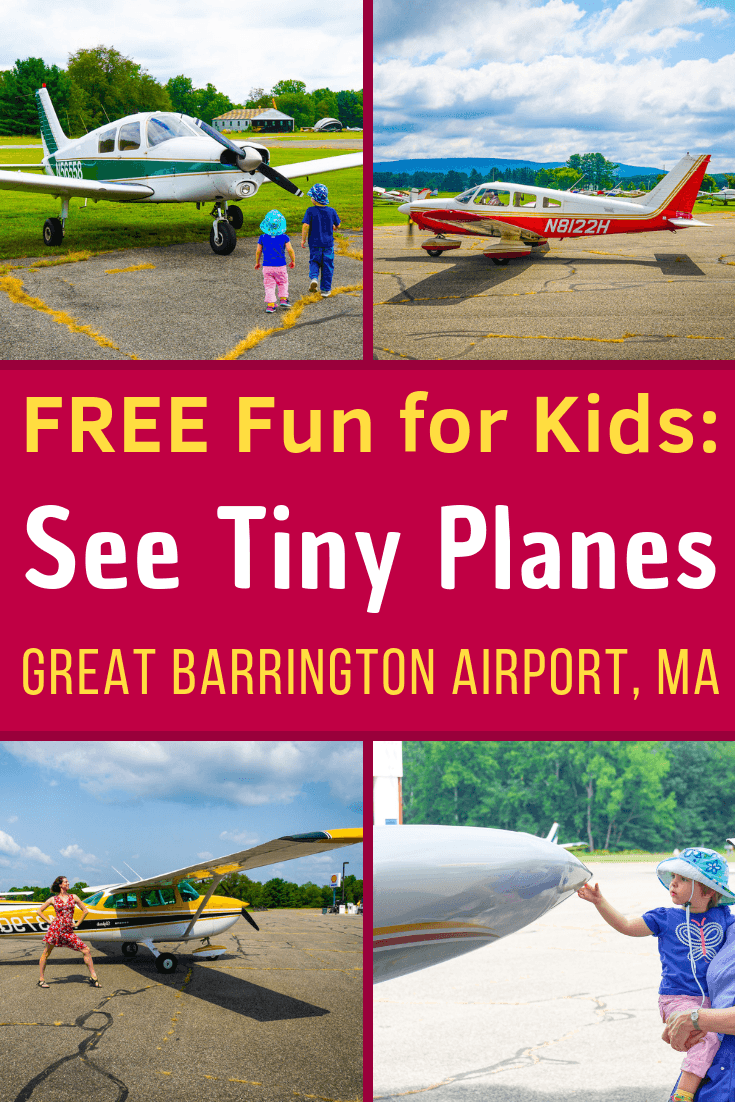 Want FREE fun things to do in the Berkshires, Western Massachusetts? See tiny planes fly at Walter J Koladza Airport, Great Barrington, MA! Great for kids. #familytravel #planes #aviation #airports #Berkshires #Massachusetts