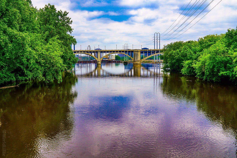 Minneapolis arch bridge