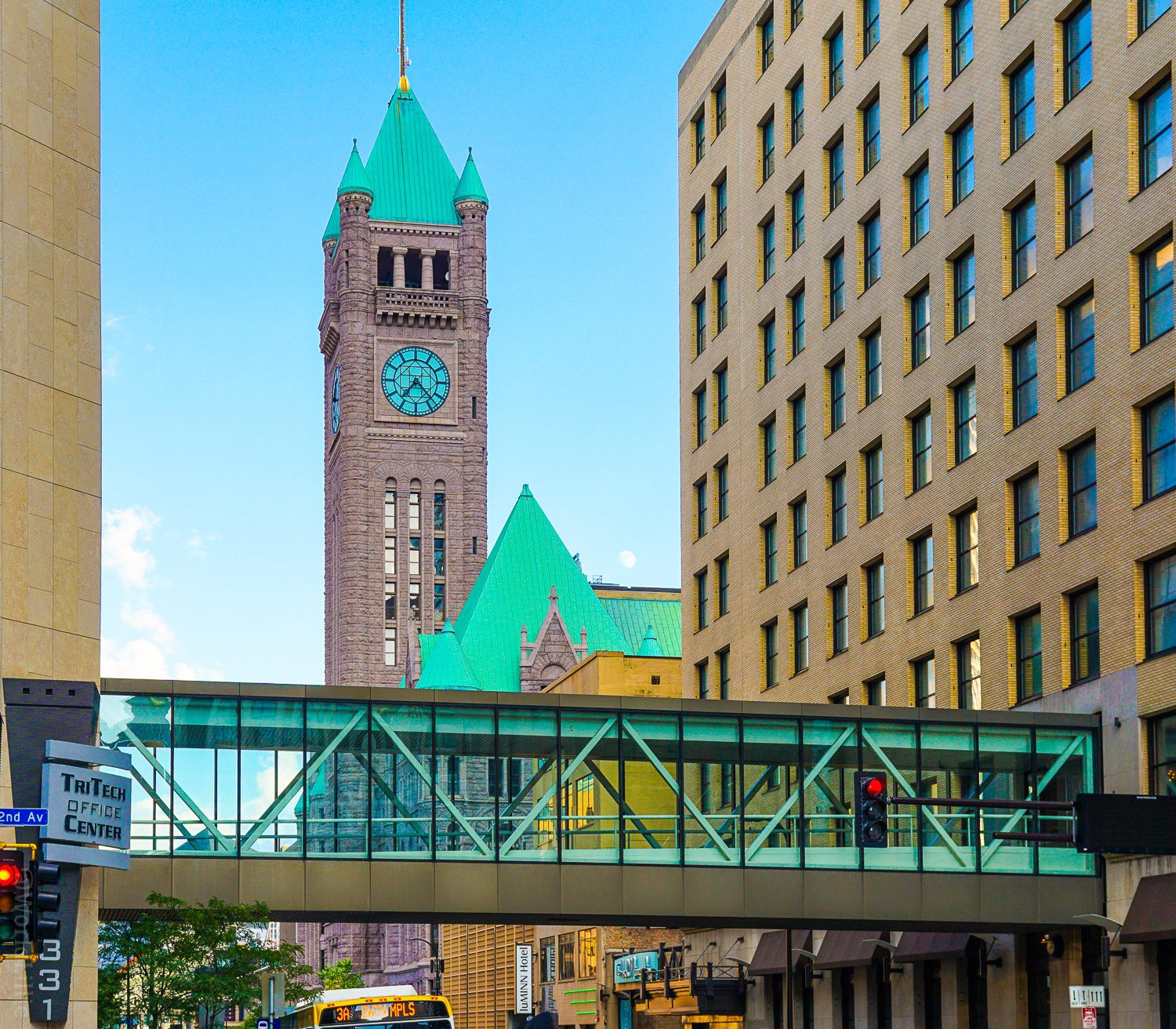 City Hall and Skyway in Minneapolis