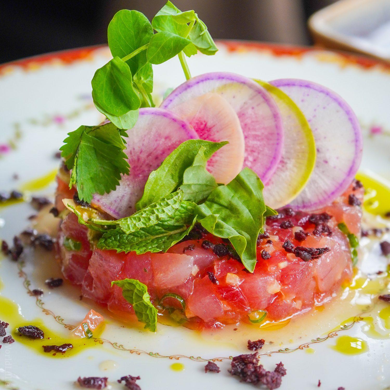 Tuna Tartare, Woods Hole, MA, Water Street Kitchen