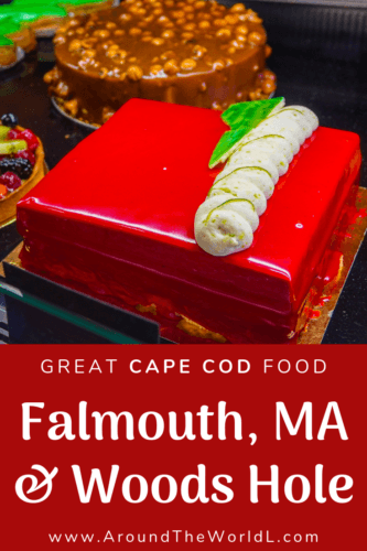 Top things to do on a Cape Cod vacation: Eat at Restaurants in Falmouth, MA and Woods Hole! Tips on a New England weekend getaway of good food, hotels, & walks.