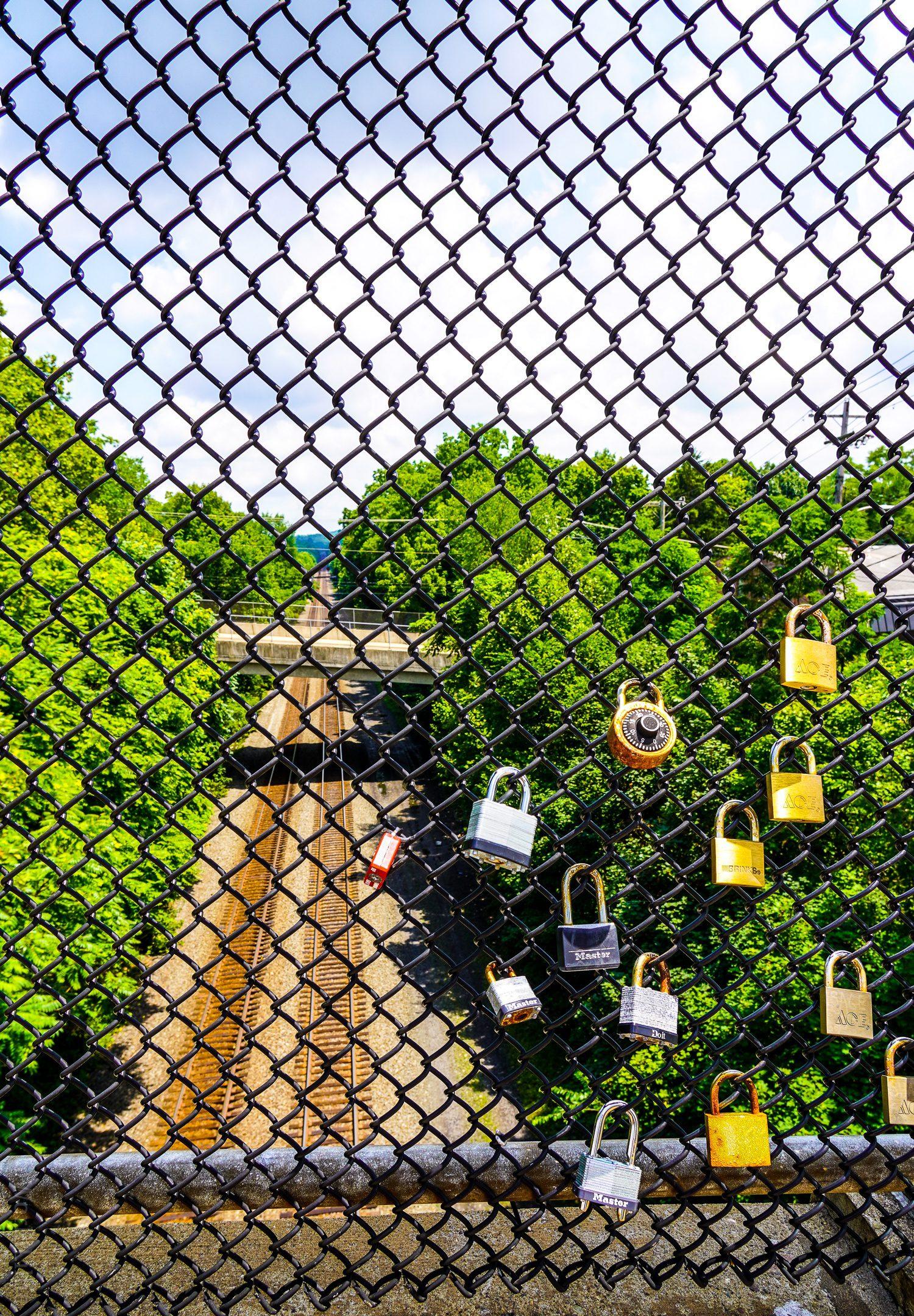 Bridge between Greensburg and WMAA locks.