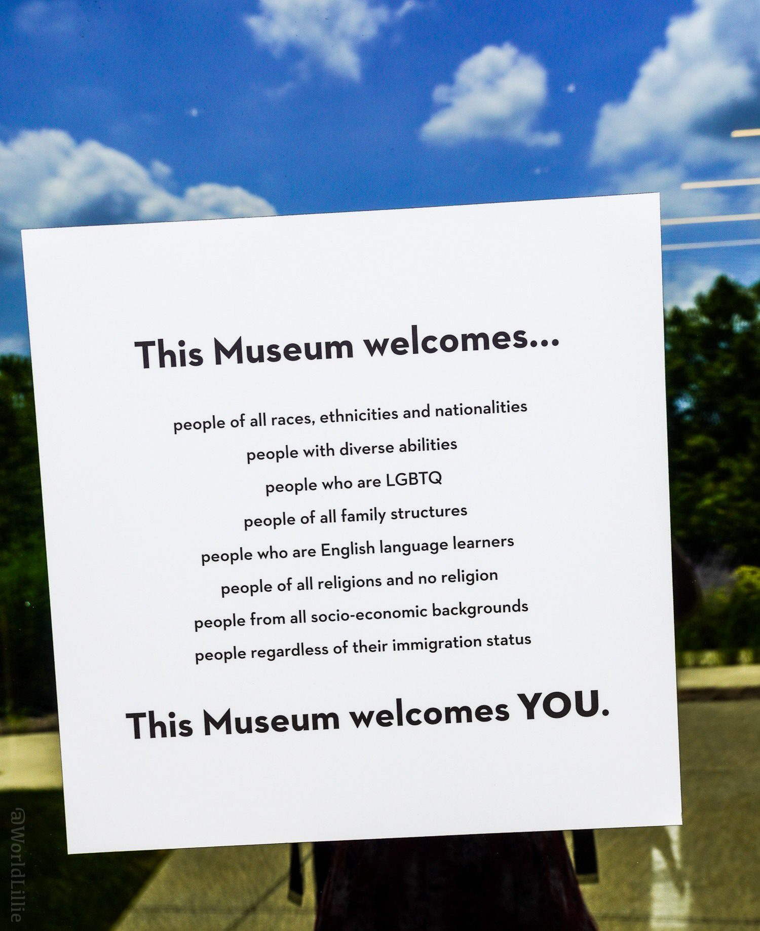 This museum welcomes YOU