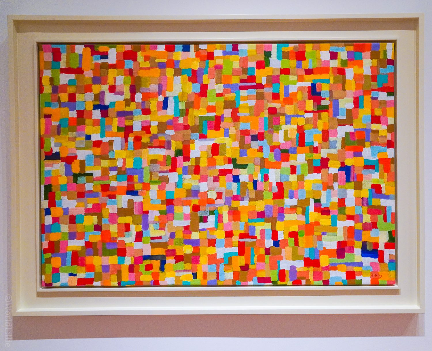 Modern art excitement in painting form!