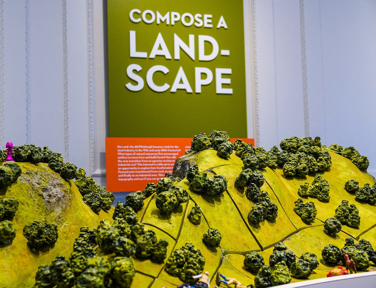 A lesson in topography and landscape design.