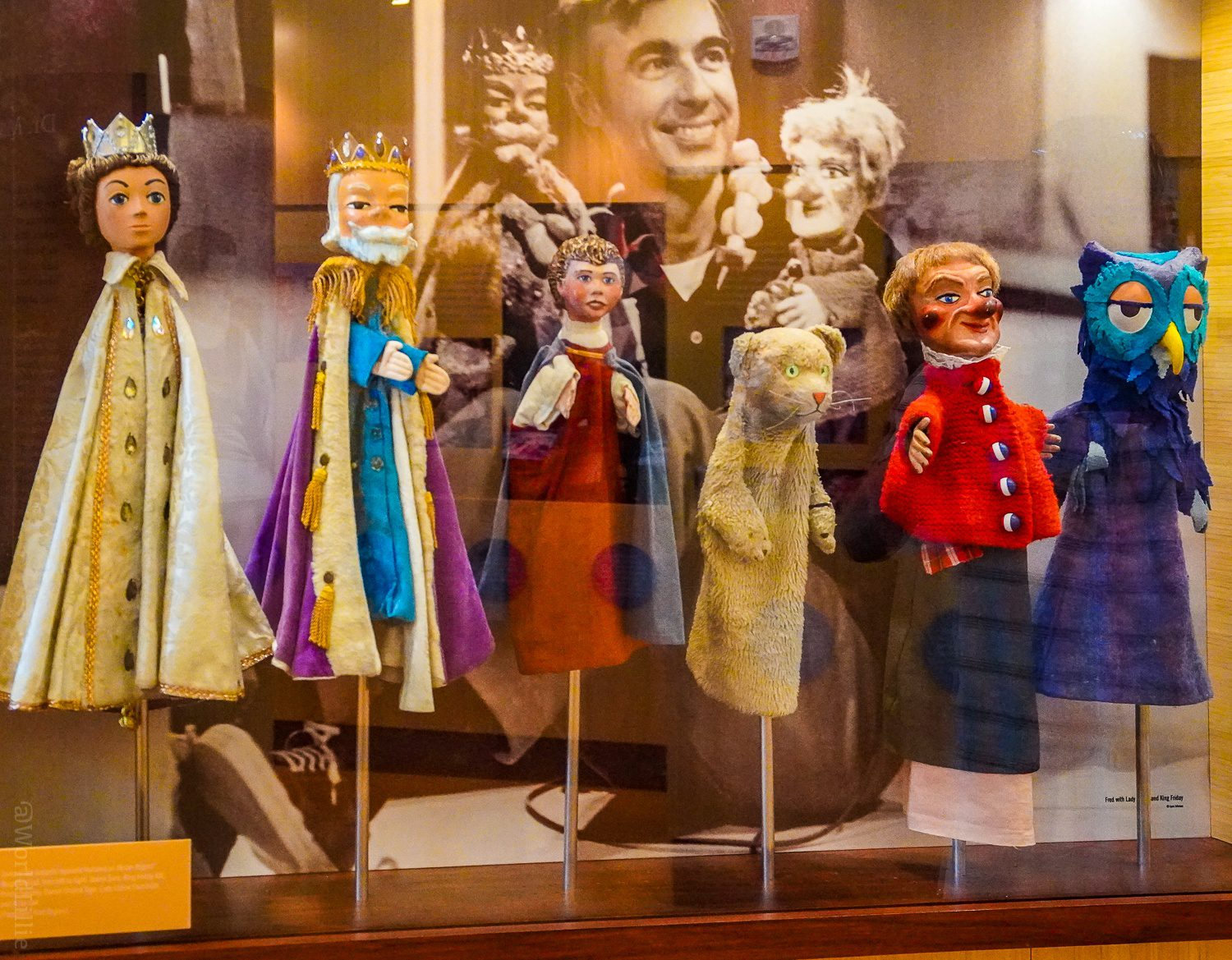 Seeing the Mister Rogers puppets in person took my breath away.