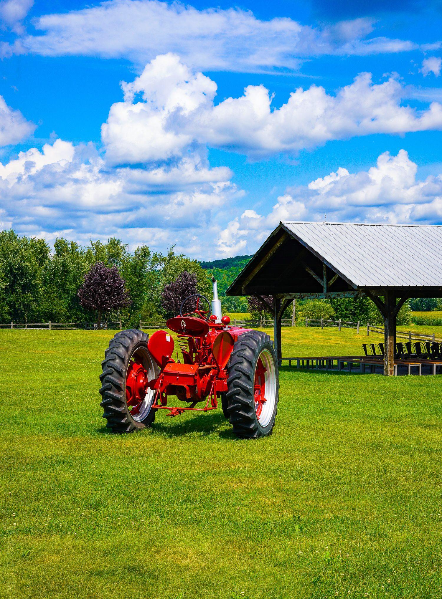 Boyden Valley is a working farm.