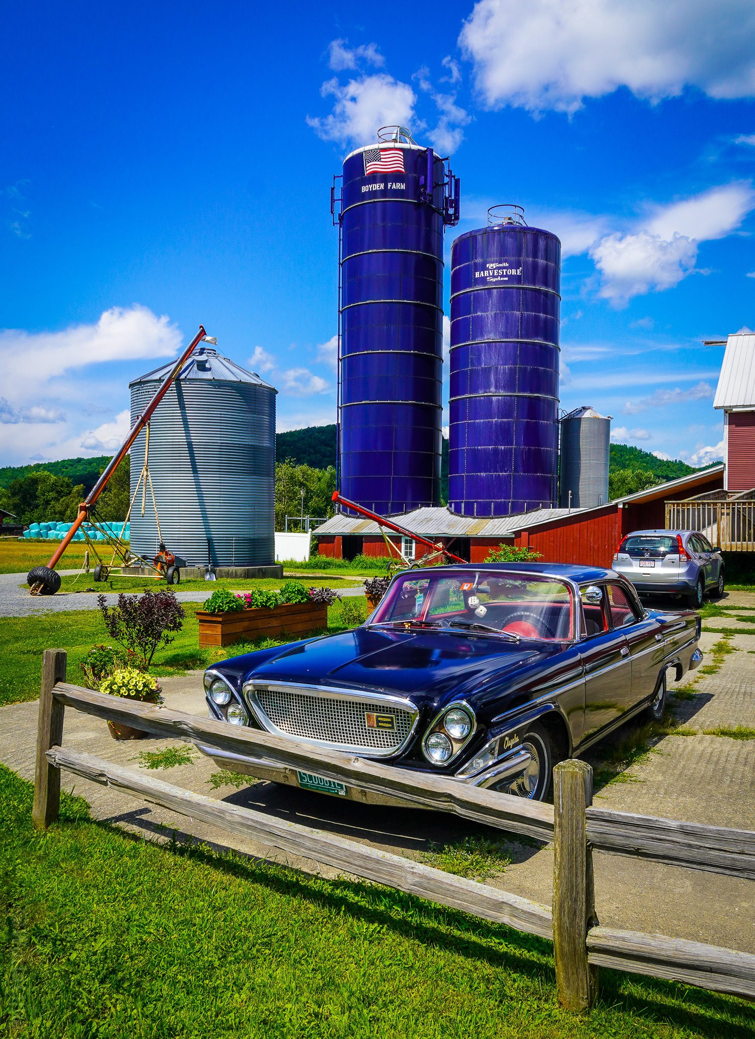 Farm barn wedding venue Vermont