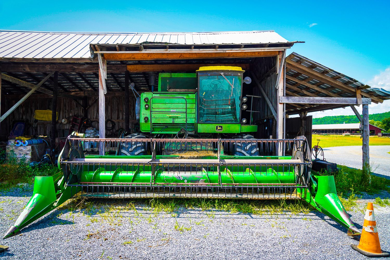 Farm equipment Vermont