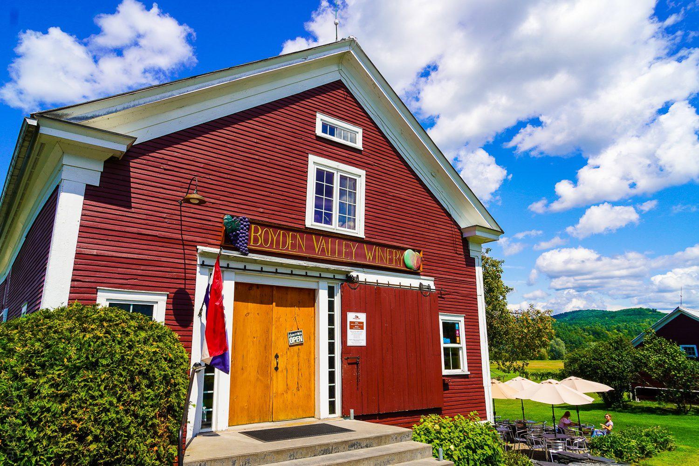 Boyden Valley Winery Cambridge VT
