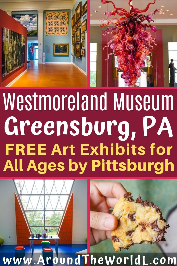 In Greensburg, PA near Pittsburg is the FREE Westmoreland Museum of Art: a synonym for inclusive. It's welcoming, with lots of things to do for adults and kids.