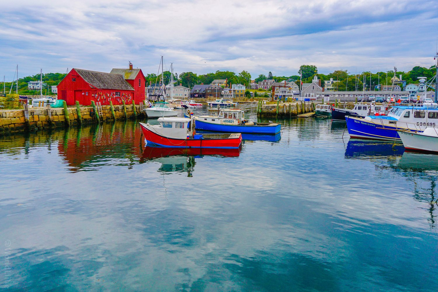 Rockport, MA photo for mural