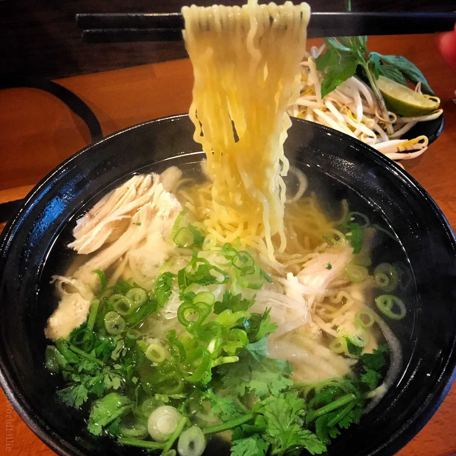 Key learning this year: Pho can be made with ramen noodles!