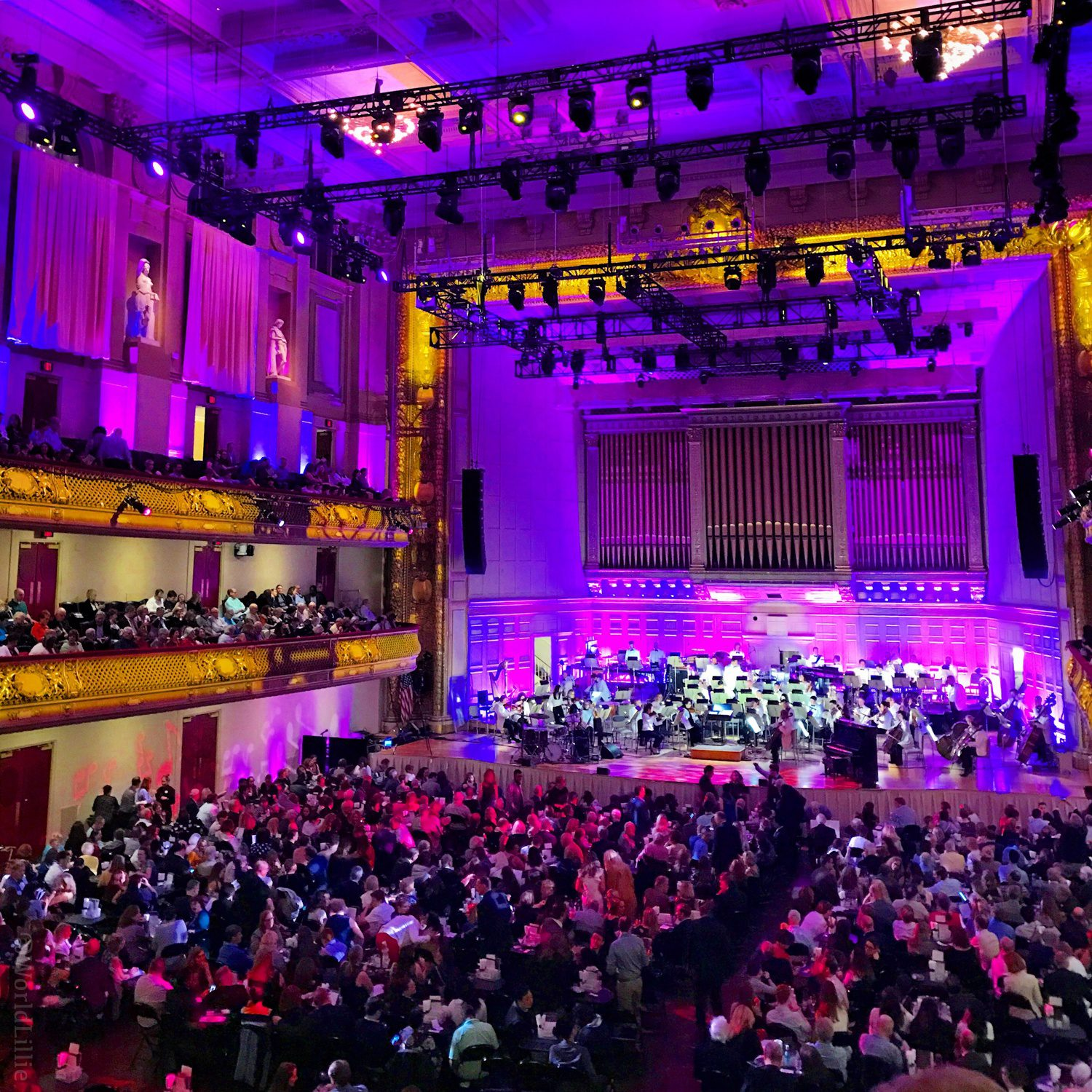 Seeing Leslie Odom Jr. perform at Symphony Hall in Boston was a highlight of the year.