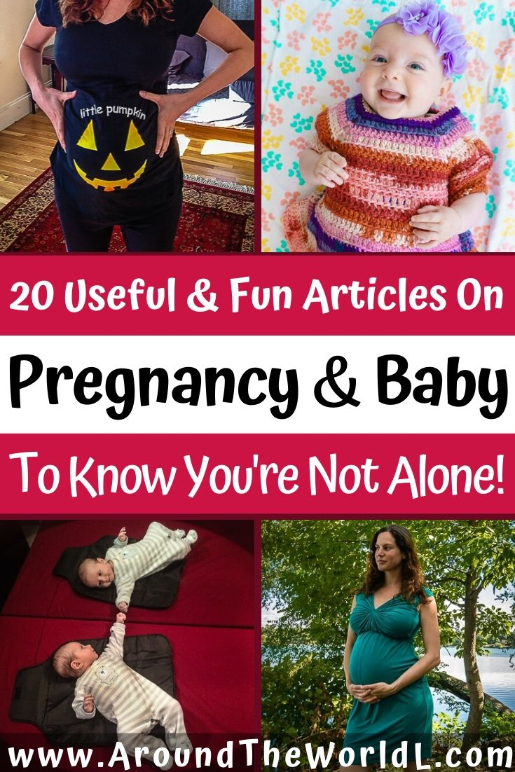 Pregnancy stories and new mom and newborn baby articles to make you smile and feel less alone!
