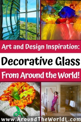 From museums to galleries to buildings, decorative glass makes the world a more beautiful place. Browse these photos of great glass art from around the world!
