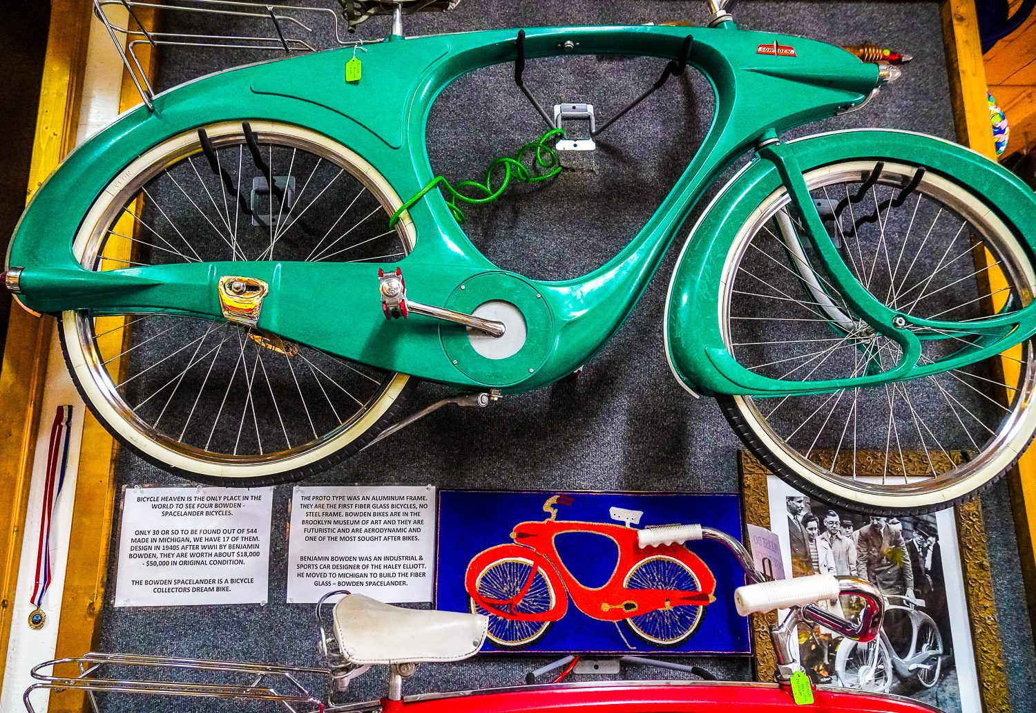 Bowden Spacelander bicycles: Extremely valuable bikes worth around $50,000 each!