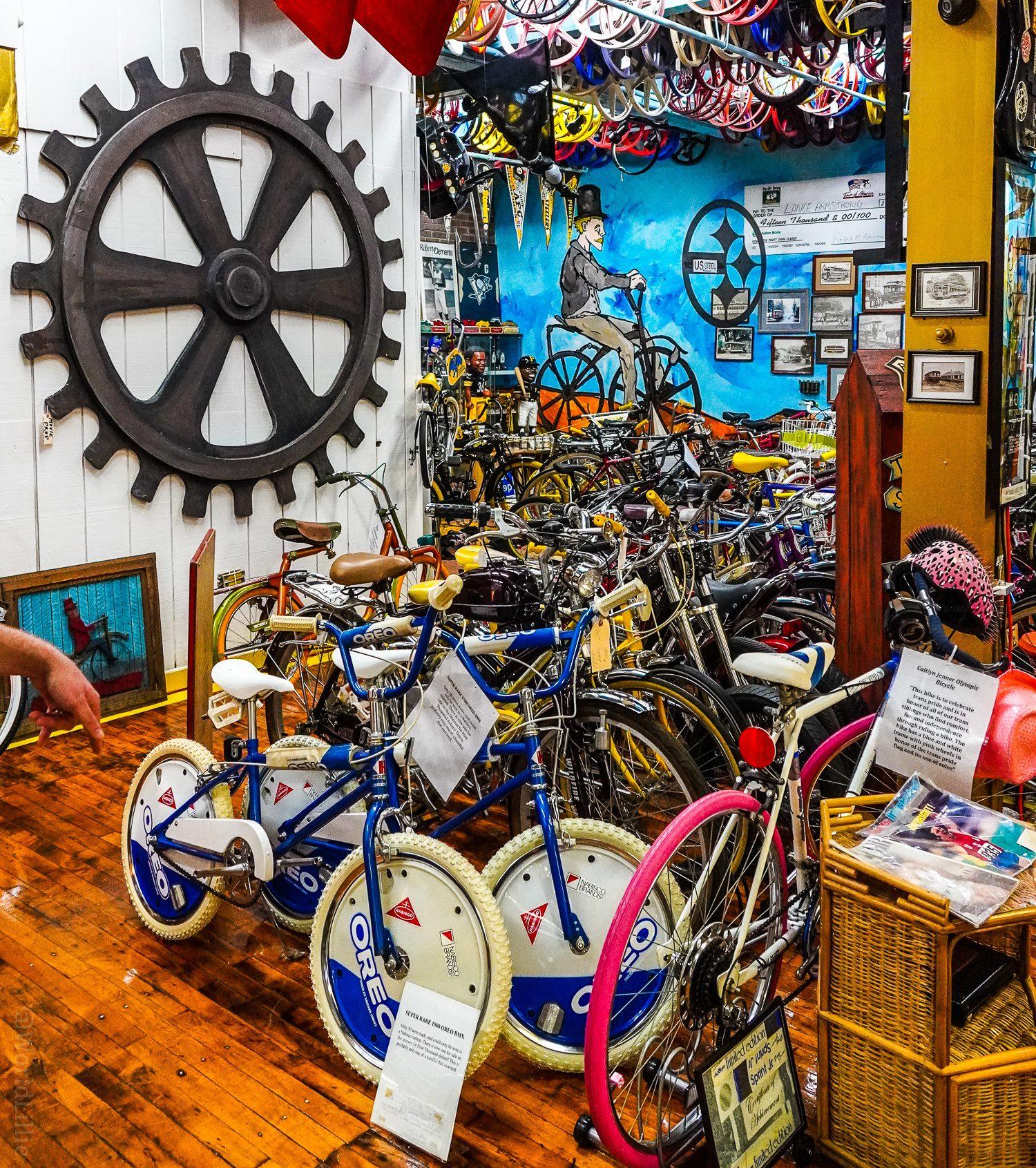 A 1980 Oreo BMX bike worth $4,000.