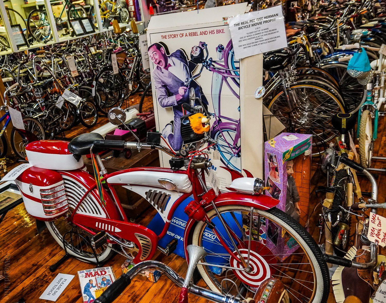 The Pee-wee Herman bike from the movie!