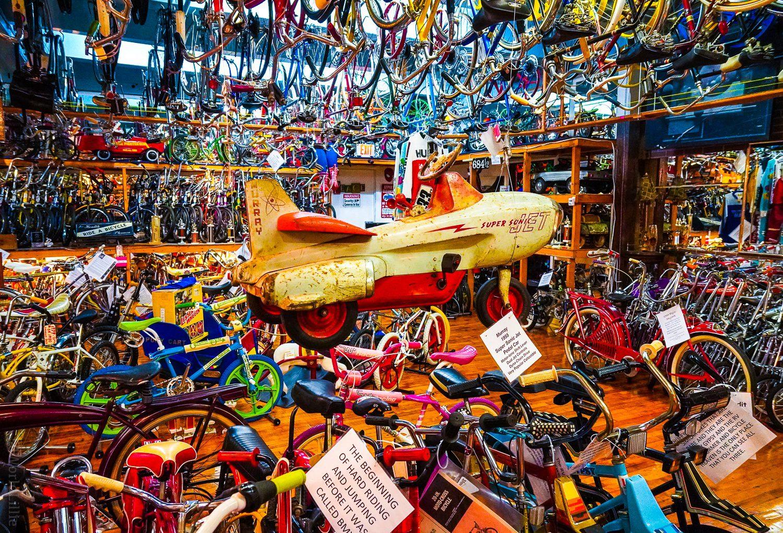 Airplane bike: 1955 Murray Supersonic Jet Pedal Car!