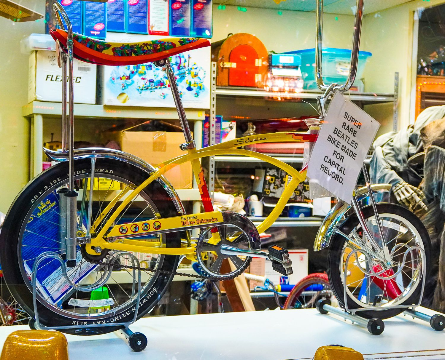 Extremely rare Beatles bike make for Capital Records.