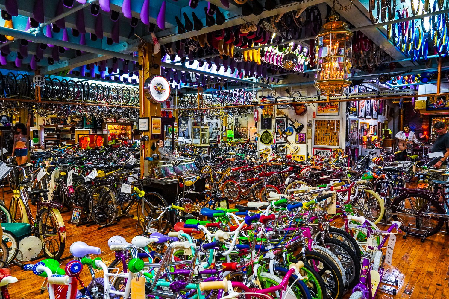 Bicycle Haven is incredible.