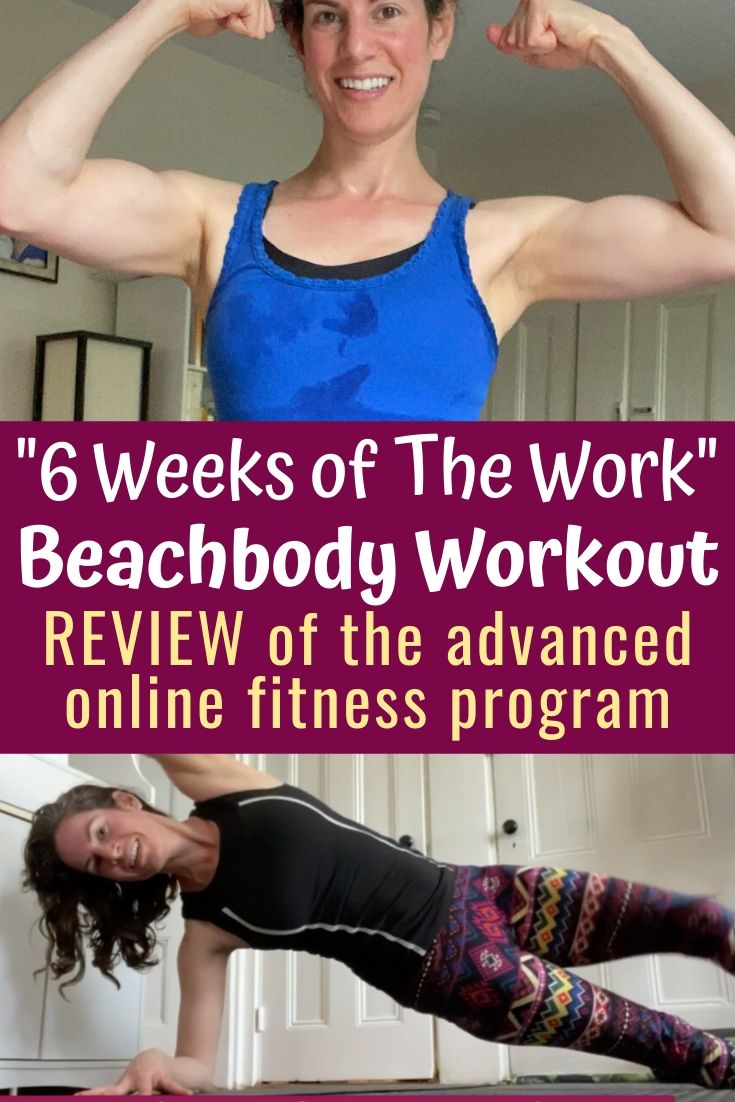 """""""6 Weeks of the Work"""" review: Beachbody on Demand"""