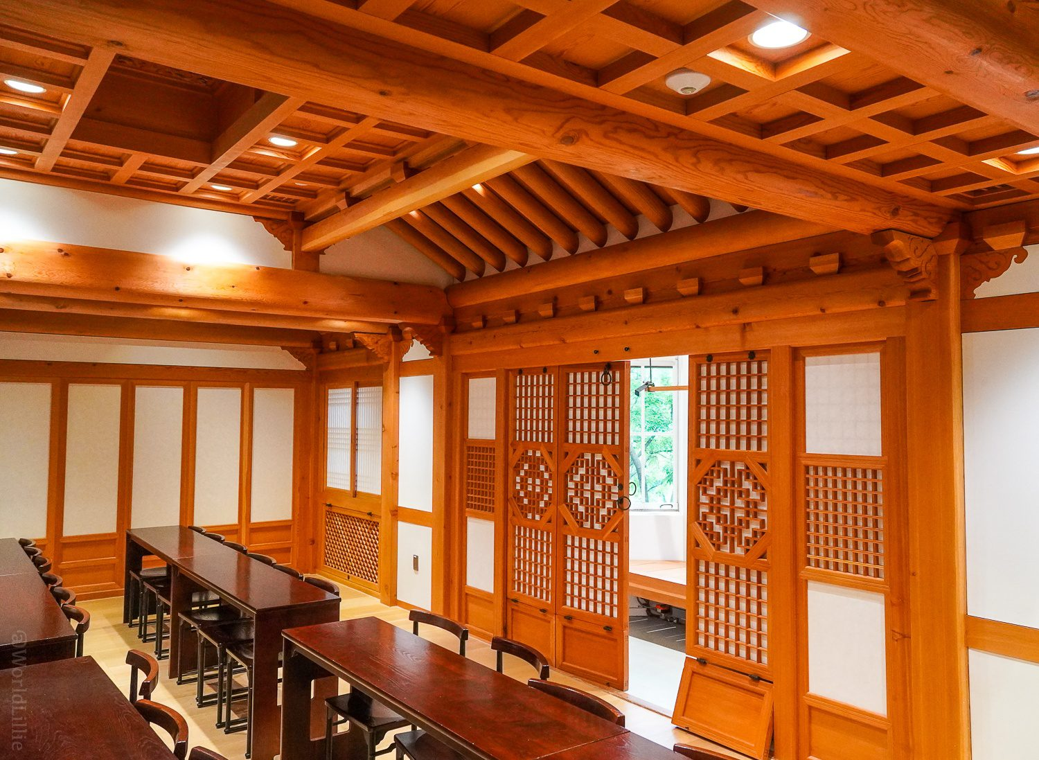 The Korean Heritage Room.