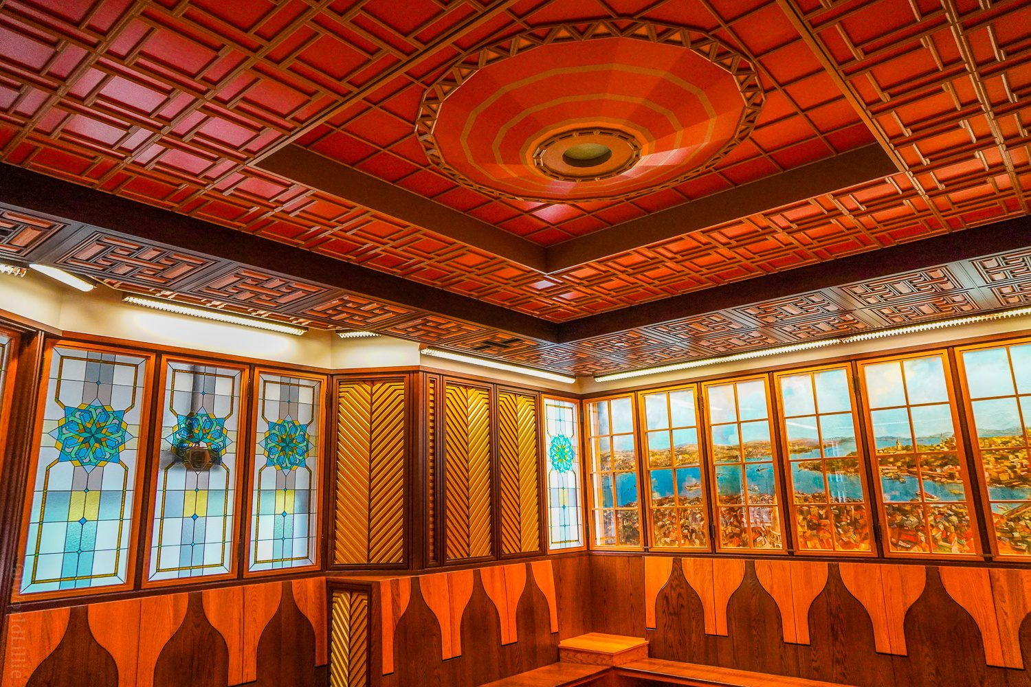 The Turkish Room in the Cathedral of Learning.